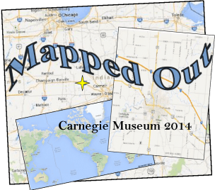 MAPPED OUT at the Carnegie Museum of Montgomery County