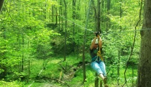 IN  Zipline Tours