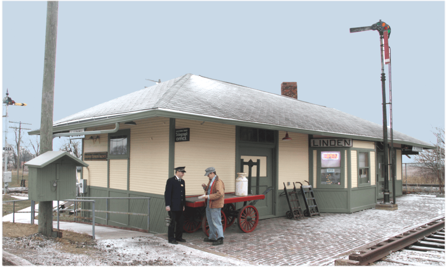 Indiana montgomery county linden - Learn More Linden Depot Museum