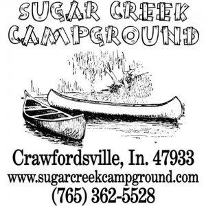 Sugar Creek Campground Sign