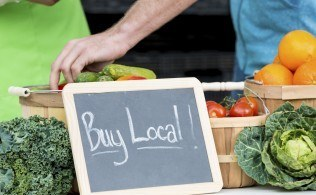 Farmer's Market & Outdoor Movie in Waveland