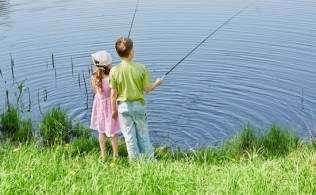 Catching One Youth at a Time & DNR Free Fishing Day