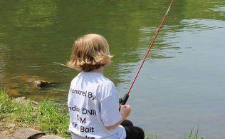 Lake Waveland DNR Free Fishing Day