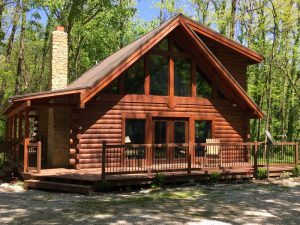 Sugar Creek Retreat Log Cabin
