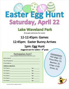 2017 Waveland Easter Egg Hunt