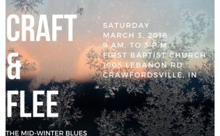 Craft and Flee the Mid-Winter Blues