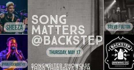 May Song Matters! at Backstep Brewing Co.