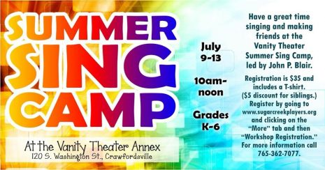 Summer Sing Camp
