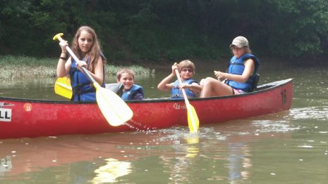 Kids, Canoes, and Crinoids