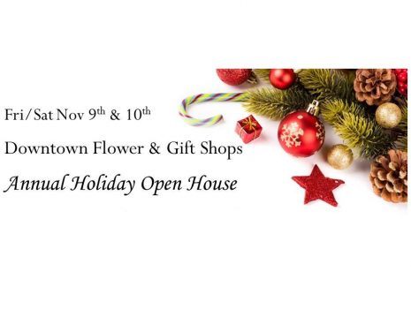 Downtown Flower and Gift Holiday Open House