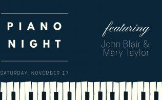 Piano Night Fundraiser