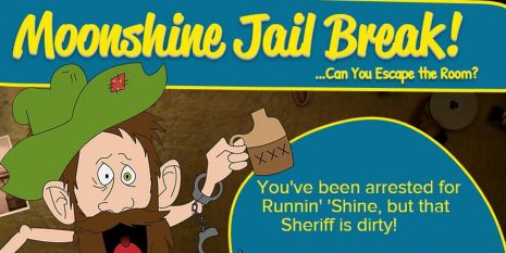Moonshine Jail Break!