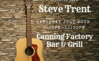 Steve Trent at the Canning Factory Bar & Grill
