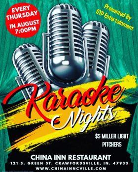 Karaoke Nights at China Inn