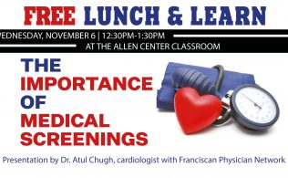 Lunch & Learn: Importance of Medical Screenings