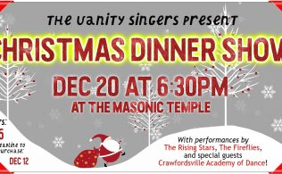 The Vanity Singers Present: Christmas Dinner Show