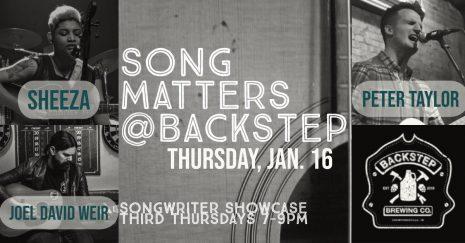 Songs Matters @ Backstep Brewery