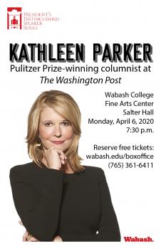 President's Distinguished Speaker Series: Kathleen Parker