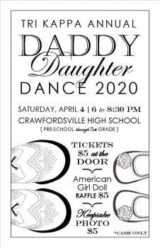Tri Kappa Daddy Daughter Dance 2020
