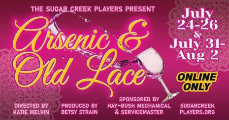 Sugar Creek Players presents virtual Arsenic & Old Lace